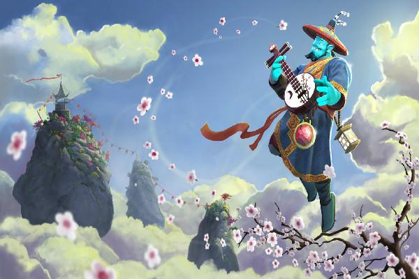 Blossoming Harmony ( Storm Spirit )