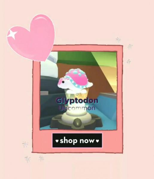 ROBLOX || Adopt Me Pet || Glyptodon || Un common