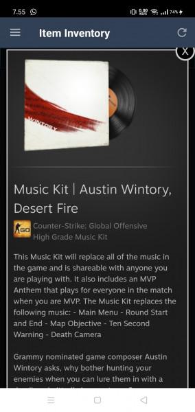 Music Kit   Austin Wintory, Desert Fire