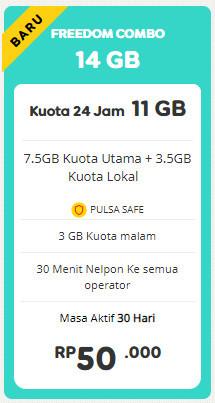 Freedom 14 GB 30 Hari
