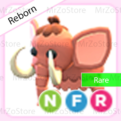 Woolly Mammoth Adopt Me Pet / Pet Adopt Me - NFR