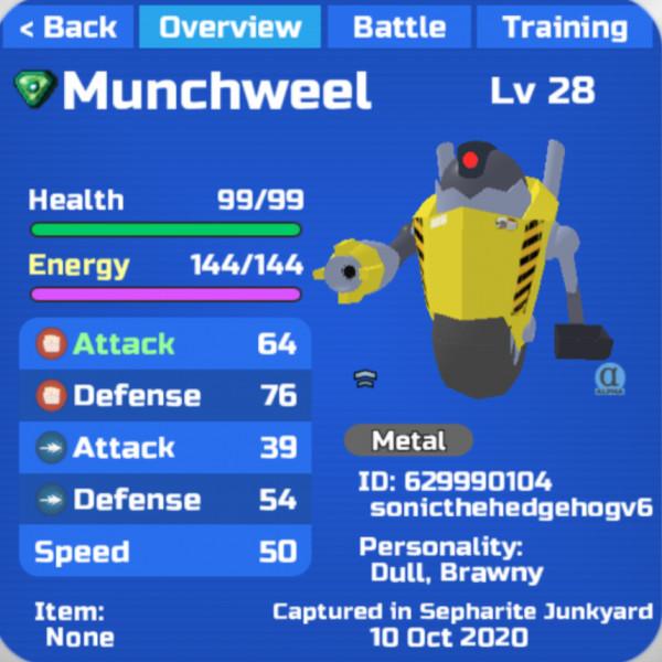 Gleaming Munchweel - Loomian Legacy