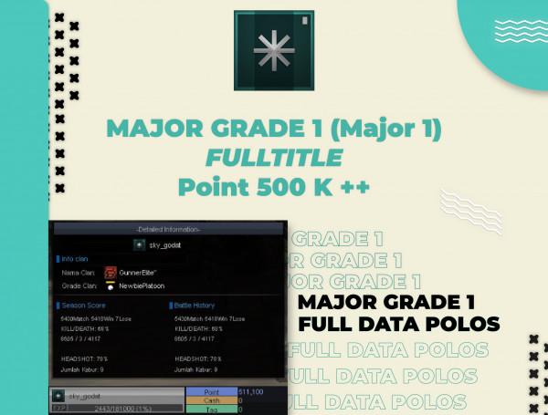 Major Grade 1 FT DATAPOLOS (Mayor 1)