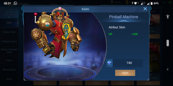 Pinball Machine (Uranus Special Skin)