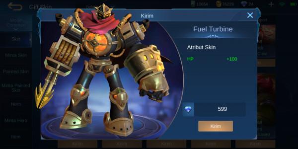 Fuel Turbine (Skin Elit Atlas)
