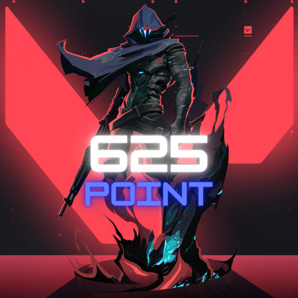 Top Up 625 Points