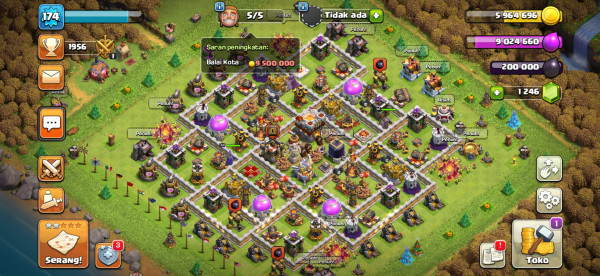 Town Hall 11 Almax Max Hero 50-50-20 murmer !!! Buatsultan