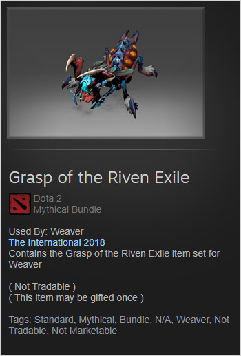 Grasp of the Riven Exile