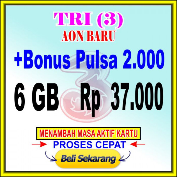 Voucher Data 6 GB