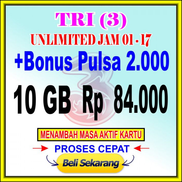 Voucher Data 10 GB