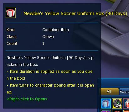 Newby Yellow Soccer 90d