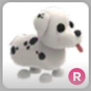 Ride Dalmatian (Santa's Dog) - Adopt me!