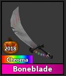 Chroma bone blade-(godly)