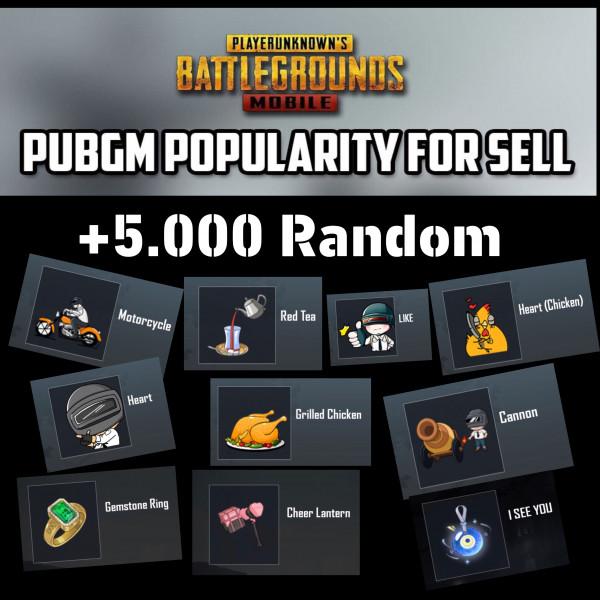 POPULARITY +5000 RANDOM