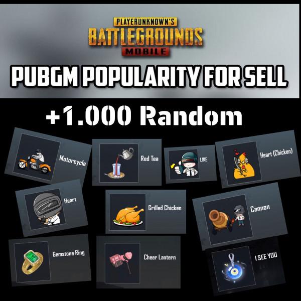 POPULARITY +1000 RANDOM