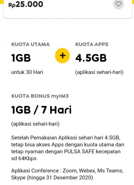 Internet Unlimited + 1 GB