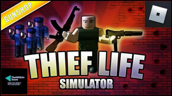 Ultra Rare Glowing UZI ( Thief Life Simulator )
