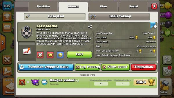 Clan Level 7 JACK MANIA