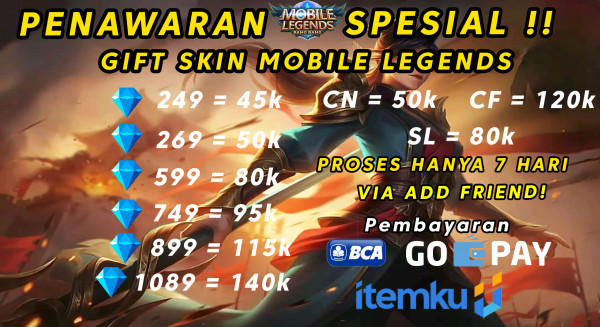 Skin 269 Diamond Mobile Legends