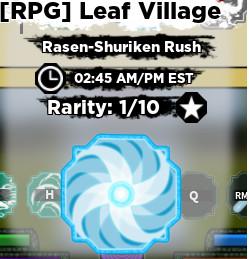 Shinobi Life 2 | Rasen-Shuriken Rush