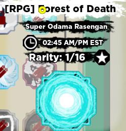Shinobi Life 2 Super Odama Rasengan