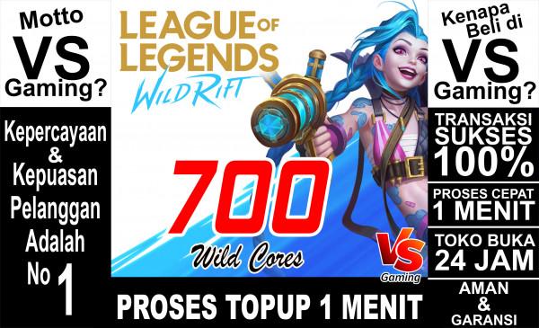 700 Wild Cores