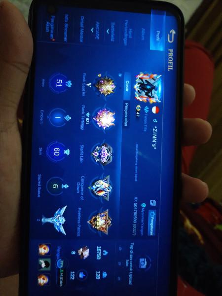 Mobile legend keren Hero 51 skins 60 emble mRebindmaksimal