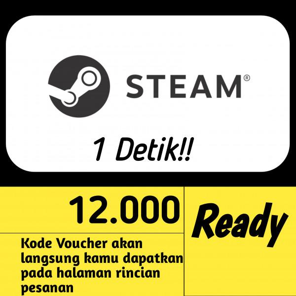 Steam Wallet IDR 12.000