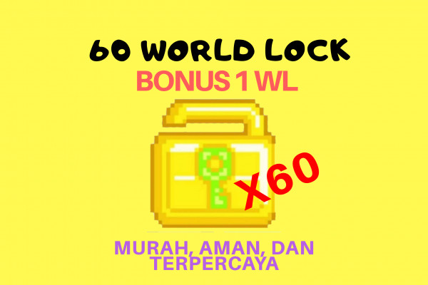 60 World lock ( Free 1 WL )