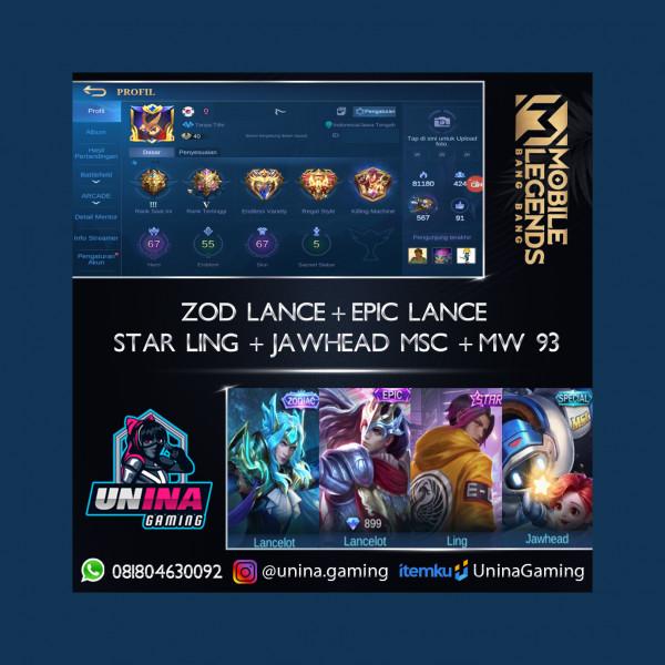 ZODIAC & EPIC LANCE + STAR LING + SP MIYA