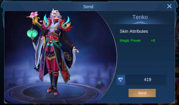 Tenko (Elite Skin Luo Yi)
