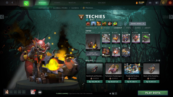 Inscribed Swine of the Sunken Galley (Arcana Techies Set)