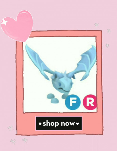 ROBLOX|| Adopt Me Pet||Frost Dragon FR ||Legendary