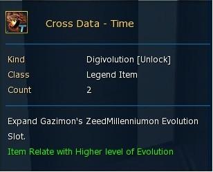Cross Data / Zeed Milleniummon