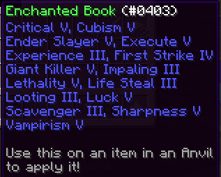 Enchanted Book (Sword)