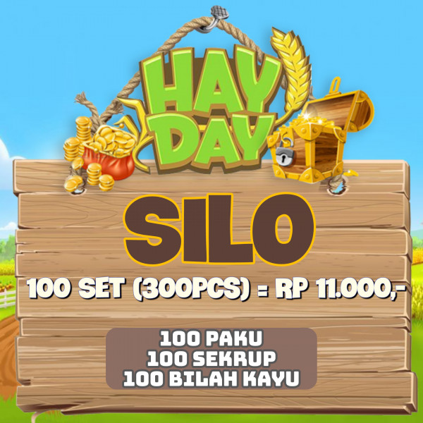 Alat Up Silo Hay Day