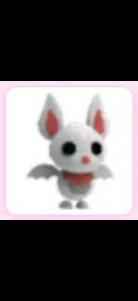 Albino Bat Pet Adopt Me!