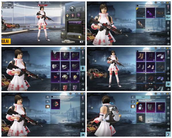 Sara | M4 shadow soldier | awm Magnolia ungu,,,