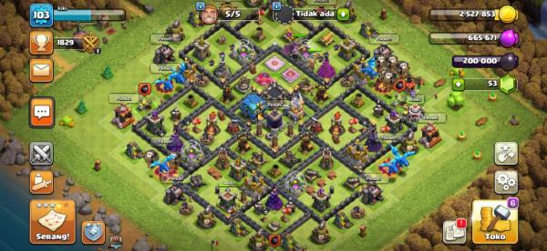 Th 12 donasi clan Hero 17-18-1 cocok buat donasi