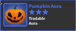 Pumpkin Aura - World Zero