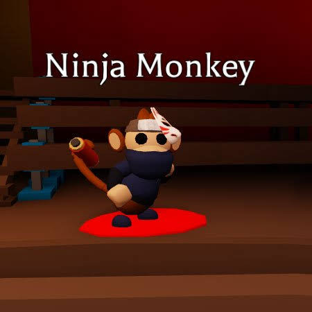 Ninja Monkey Normal - Adopt Me