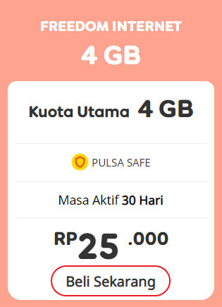 Freedom Internet 4GB