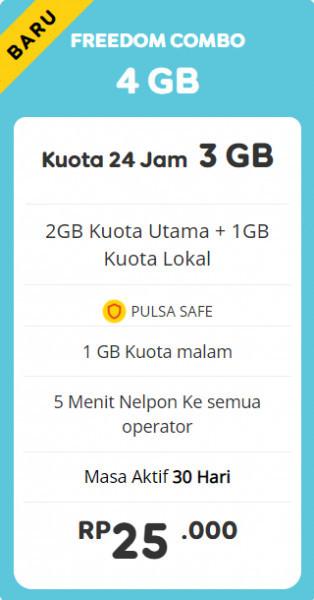 Freedom Combo 4GB