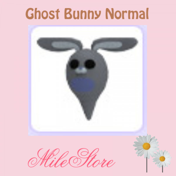 Ghost Bunny Normal Adopt Me (Halloween Pets 2020)