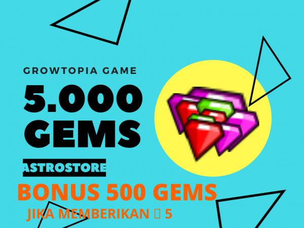 5000 gems / 5k gems
