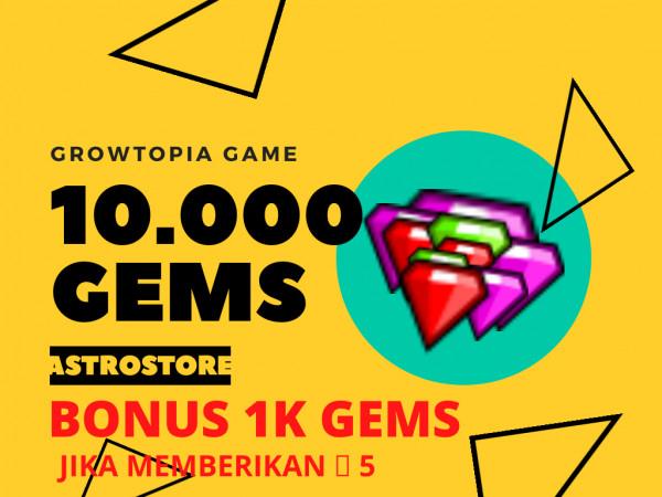 10.000 Gems / 10k Gems