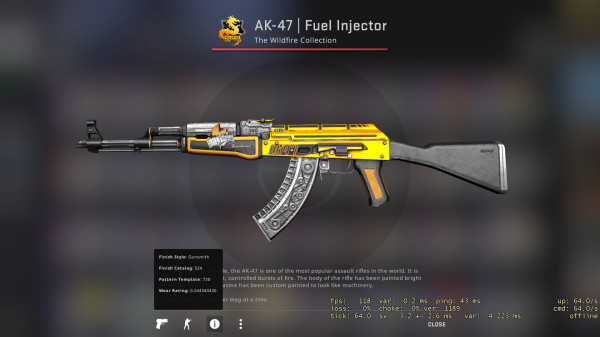 AK-47 | Fuel Injector FT