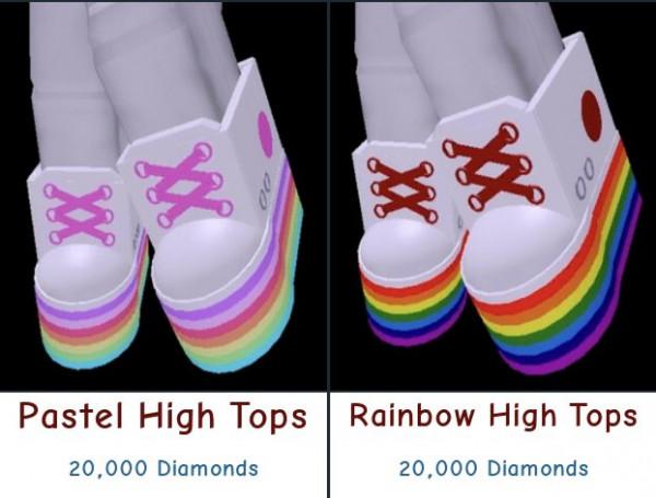 Rainbow High Tops - Royale High