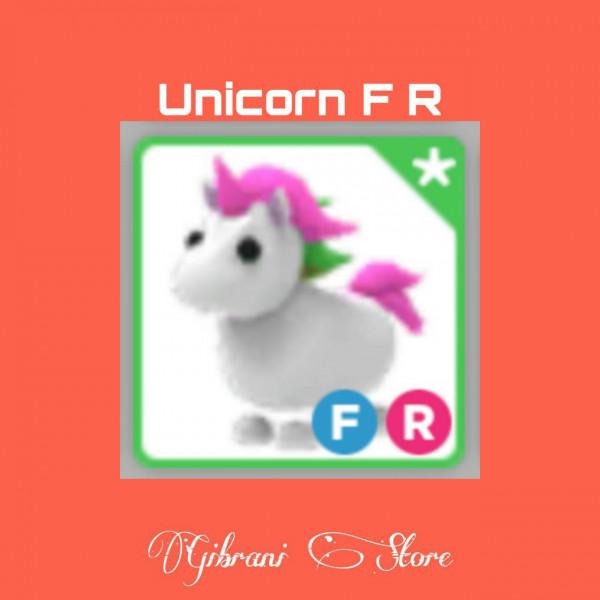 Unicorn F R Adopt Me pet