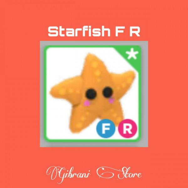 Starfish F R Adopt Me pet